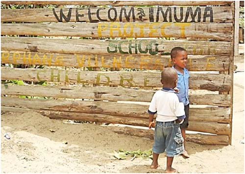 Das Waisenhaus Imuma in Bagamoyo (Tansania)