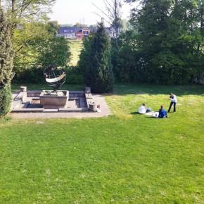 Picknick an der Sonnenuhr