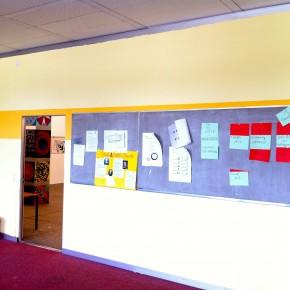 Ein frisch gestrichenes Zimmer in Bau 2 (2011)