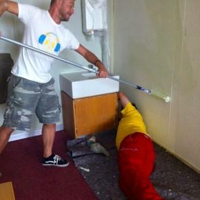 Die SMV streicht die Zimmer neu (2011)