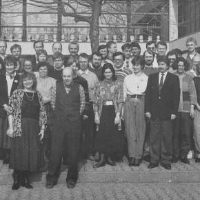 Kollegium im Jahr 1988/89