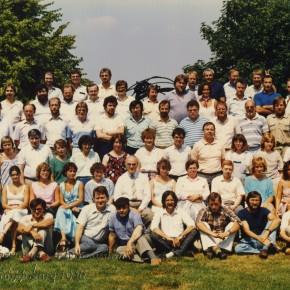 Kollegium im Jahr 1986/87