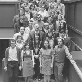 Kollegium im Jahr 1974/75