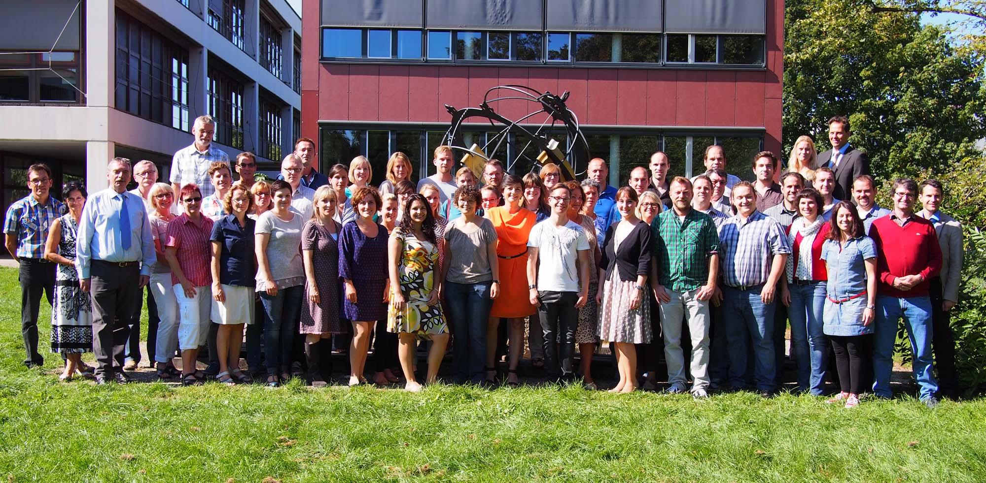 Aktuelles Kollegium (Klick aufs Bild zum Zoomen)