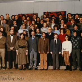 Kollegium im Jahr 1984/85