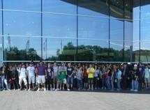 Besuch der Erdkunde-Kurse 12 bei Audi in Neckarsulm
