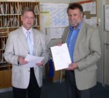40-jähriges Dienstjubiläum von StD Willi Vocke