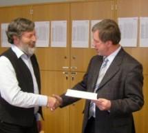Oberstudienrat Reinhard Kecker in den Ruhestand verabschiedet