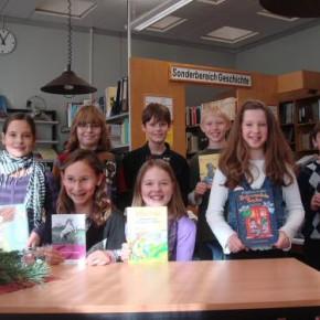 Die Lesekünstler(innen) aus den 5. Klassen