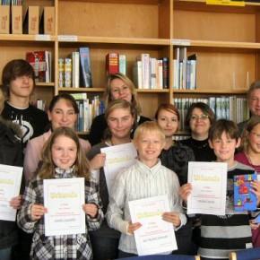 Die besten Vorleserinnen und Vorleser 2009