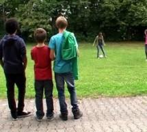 Video-AG bei der Schul-WM der FAZ