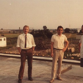 Rechts: Bauamtsleiter Witzel (Stadtbauamt Philippsburg)