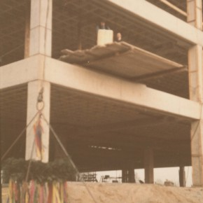 13. 12. 68: Richtfest der ersten Baustufe