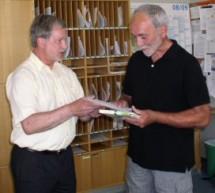 Oberstudienrat Heiner Wallenwein feiert sein 40-jähriges Dienstjubiläum