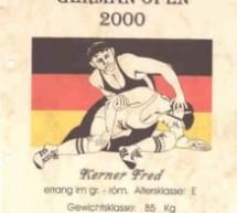 Fred Kerner zweifacher German Open-Sieger