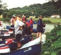 Paddelfahrt der Klasse 10a auf der Altmühl (4.7. – 8.7.2000)