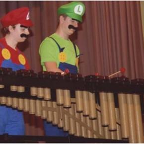 Mario und Luigi spielen