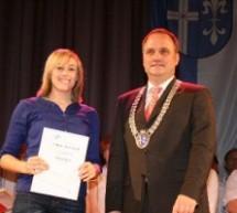Caroline Zieger in Philippsburg als Sportlerin des Jahres ausgezeichnet
