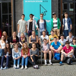 Vor dem Deutschen Museum