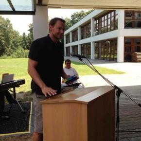 Rede von Herr Steckbauer