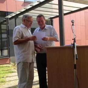 Abschiedsrede von Herr Müller und Herr Moorweiser