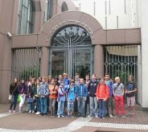 Besuch der Sechsklässler in der Mannheimer Synagoge