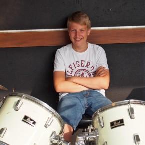 Der Drummer macht schon Urlaub