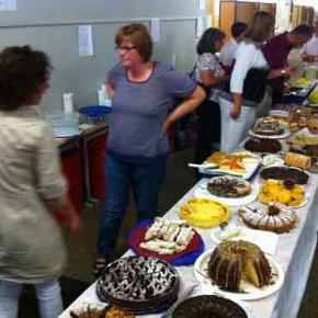 Der Kuchenverkauf