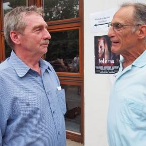 Schulleiter Peter Müller und Herr Kerner