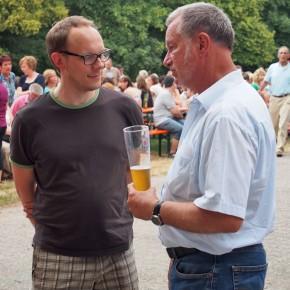 Herr Markus Müller und Herr Sonnentag