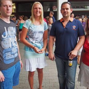 Herr Brunsch trifft seine Abiturienten aus dem Jahr 2010 wieder