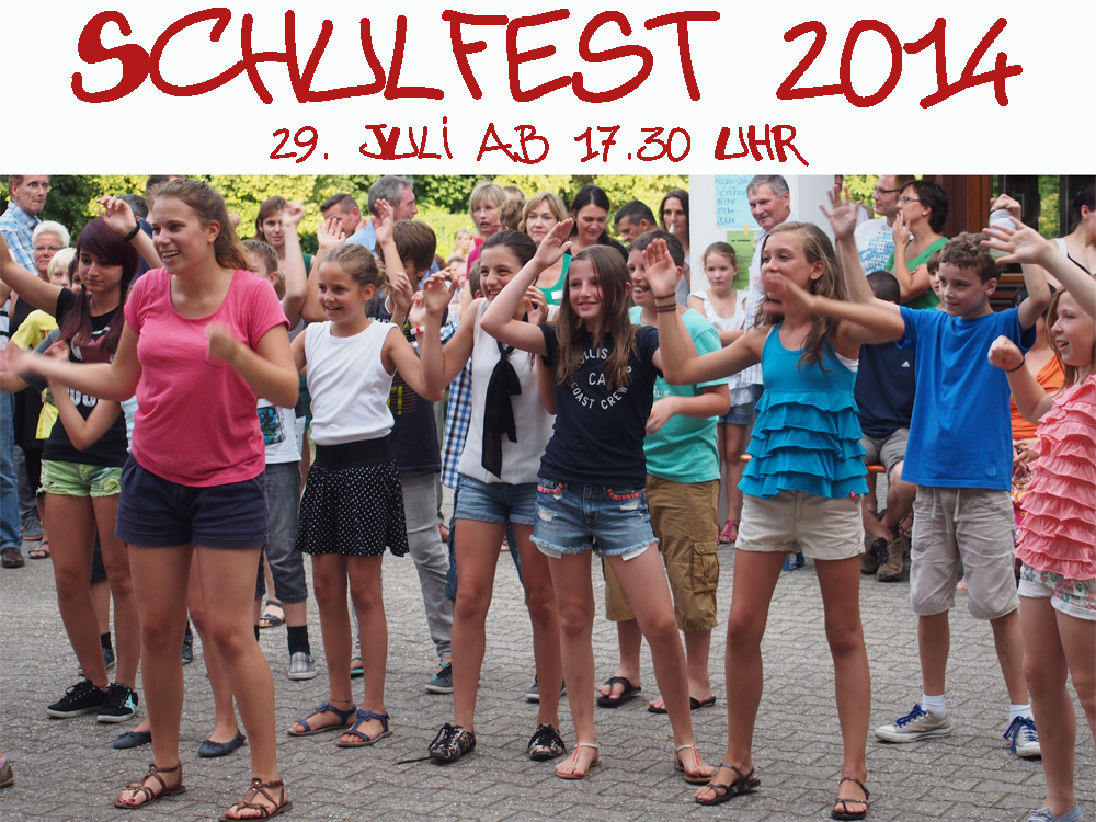 Schulfest 2014