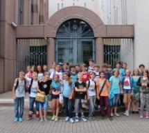 Lerngang der 6er in die Mannheimer Synagoge