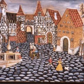 Bühnenbild zu Till Eulenspiegel von Helmut Neumann