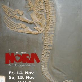 Nora auch am Samstag.