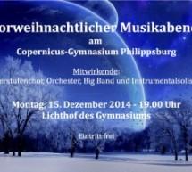 Musikalische Einstimmung auf Weihnachten