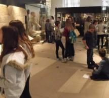Besuch der 6a im Landesmuseum in Karlsruhe
