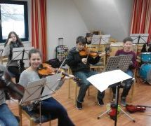 Probentage des Orchesters 2016