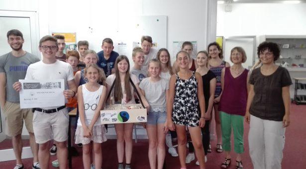 FairTrade-AG spendet 300 Euro