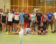 Die Volleyball-AG 2016/17 stellt sich vor