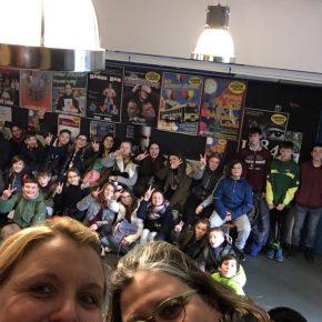 Theaterbesuch der 7d mit Klassenlehrerteam