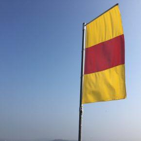 Nicht die spanische Flagge!