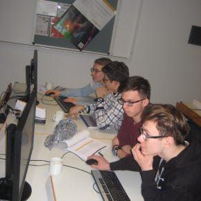 Junge Informatiker bei der SAP