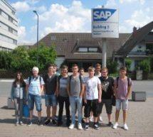 Informatikschüler bei SAP in Walldorf