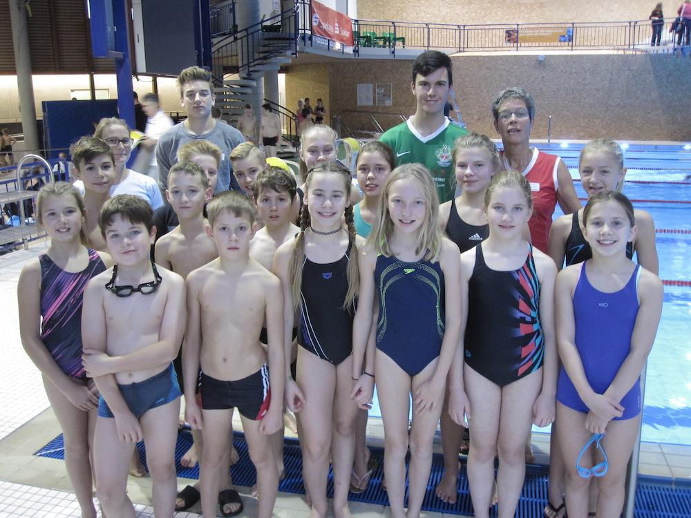 CopGym bei den 30. Schüler Schwimm Meisterschaften im 7XDtj