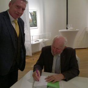 Weizsäcker signiert