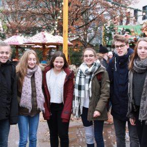 Schlendern auf dem Weihnachtsmarkt