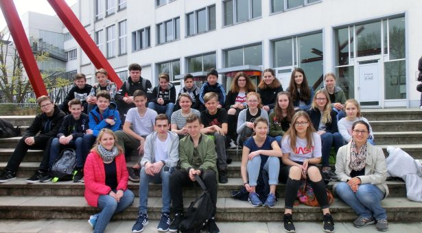 Exkursion der Klasse 8a in das Landesmuseum für Technik und Arbeit nach Mannheim