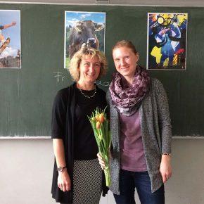 Frau Neuß und Frau Quartier. Seit 5 Jahren ein eingespieltes Team.