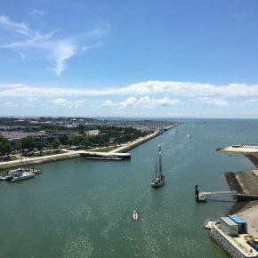 Der Hafen.